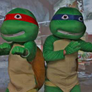 Our characters will be the life of the Ninja Turtle party in Cook County, IL