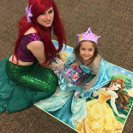 Little Mermaid with child
