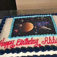 Adventures in Space cake