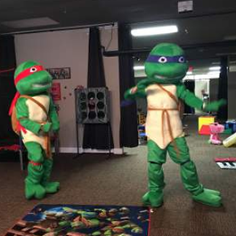 Turtles at the Party