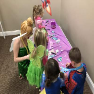 Tinkerbell with Kids
